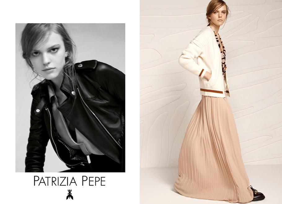 Patrizia Pepe Preview F/W 2015 | Andoni & Arantxa | Patrizia Pepe | Vogue Italia | Maria Giulia Riva | Numerique Retouch Photo Retouching Studio