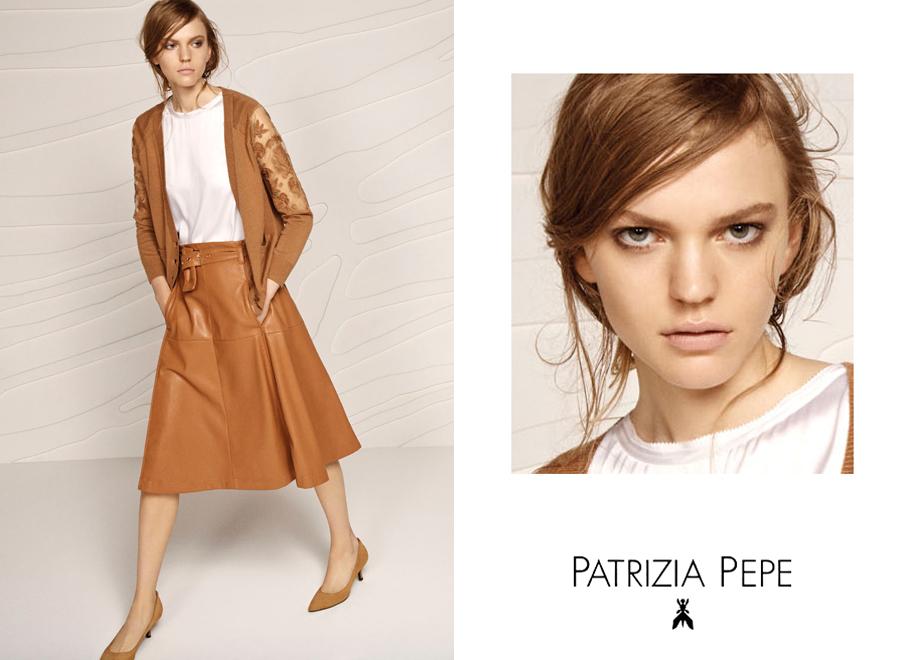 Patrizia Pepe Preview F/W 2015 | Andoni & Arantxa | Patrizia Pepe | Numerique Retouch Photo Retouching Studio