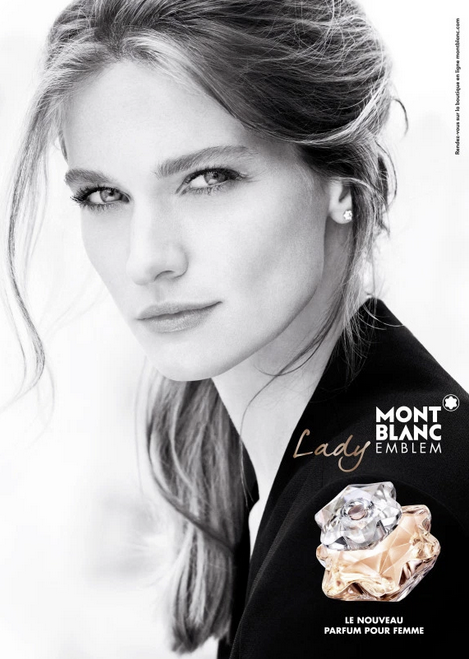 "Montblanc ""Lady"" Fragrance Campaign 