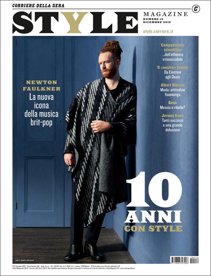"STYLE MAGAZINE DECEMBER 2015 ""NEWTON FAULKNER"" | Timur Celikdag | Jaeger-LeCoultre | Style Magazine | Alice Gentilucci | Numerique Retouch Photo Retouching Studio"