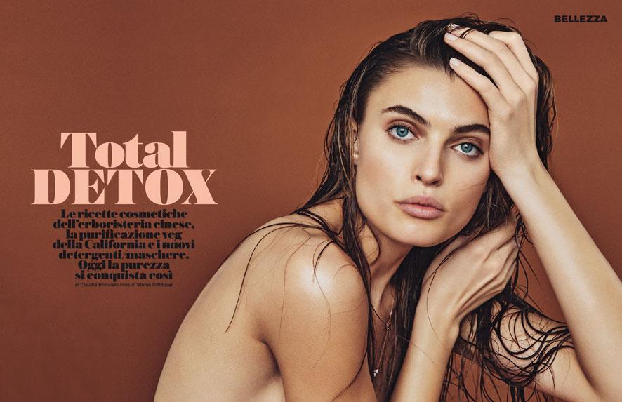"D La Repubblica February 2016 ""Total Detox"" | Stefan Giftthaler | Max Mara | D la Repubblica | Numerique Retouch Photo Retouching Studio"