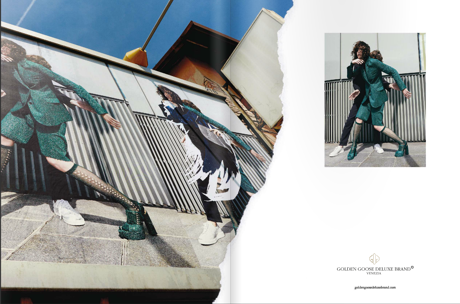 Golden Goose Deluxe Brand ADV FW 2016 | Alessio Bolzoni | Golden Goose Deluxe Brand | Interview Germany | Andreas Peter Krings | Numerique Retouch Photo Retouching Studio