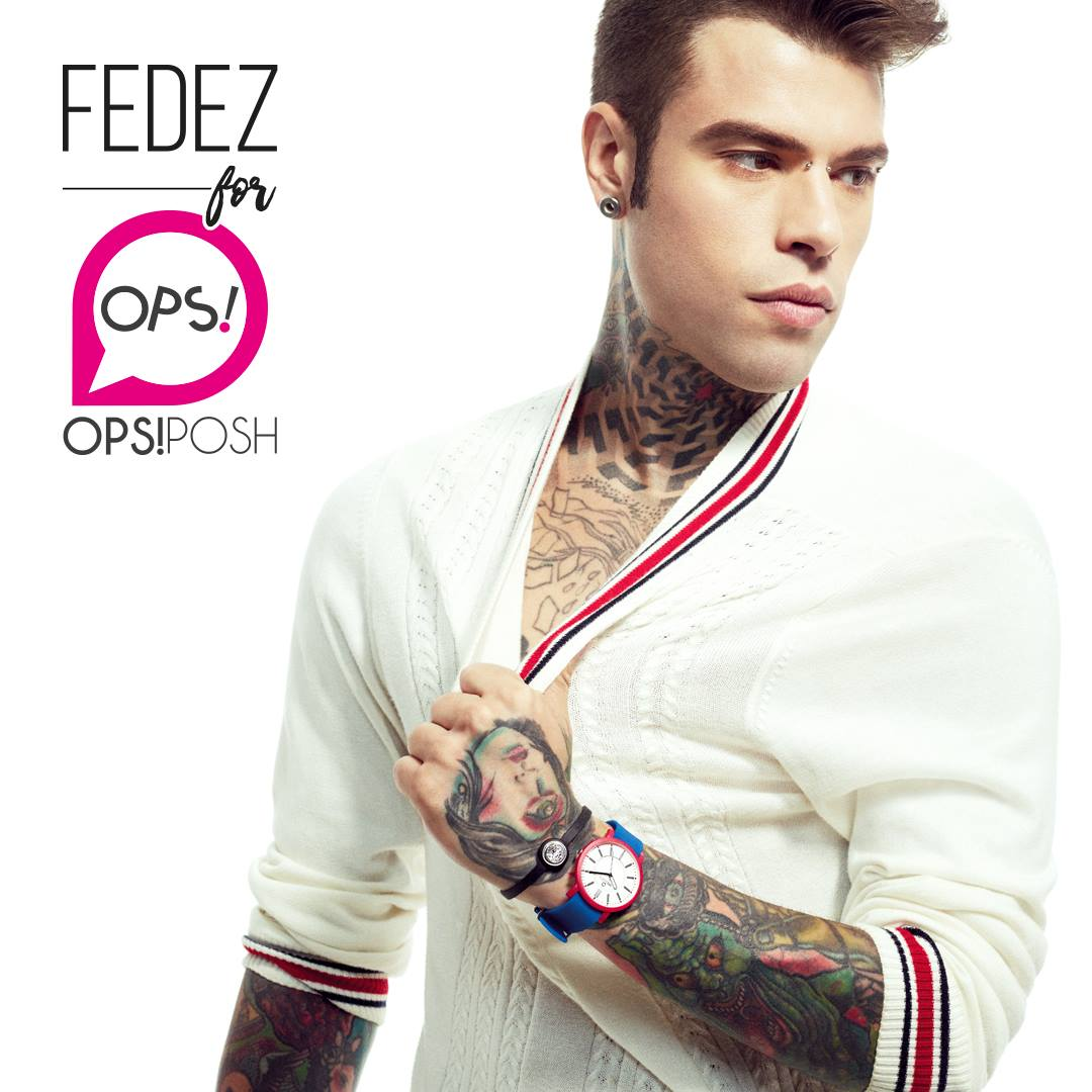 Fedez for Ops!Posh | Andrea Olivo | Ops Objects | Numerique Retouch Photo Retouching Studio