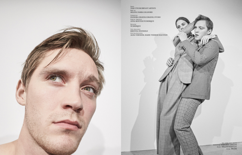 """Interview Germany November 2016 """"Lisa Tomaschewsky and Jonas Nay"""" 