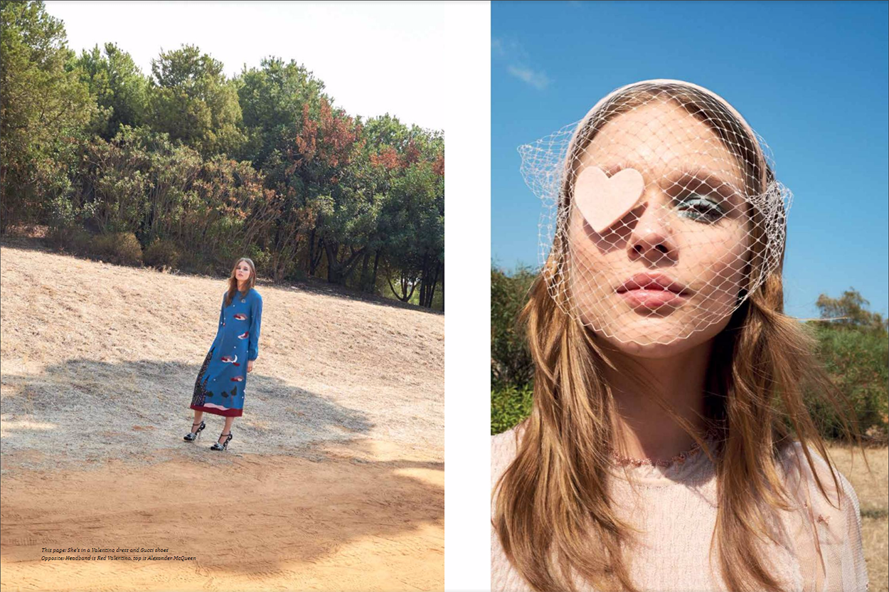 "Aishti Magazine Dec/Jan 2017 ""A walk in the park""   Marco Pietracupa   Aishti magazine   Amelianna Loiacono   Numerique Retouch Photo Retouching Studio"
