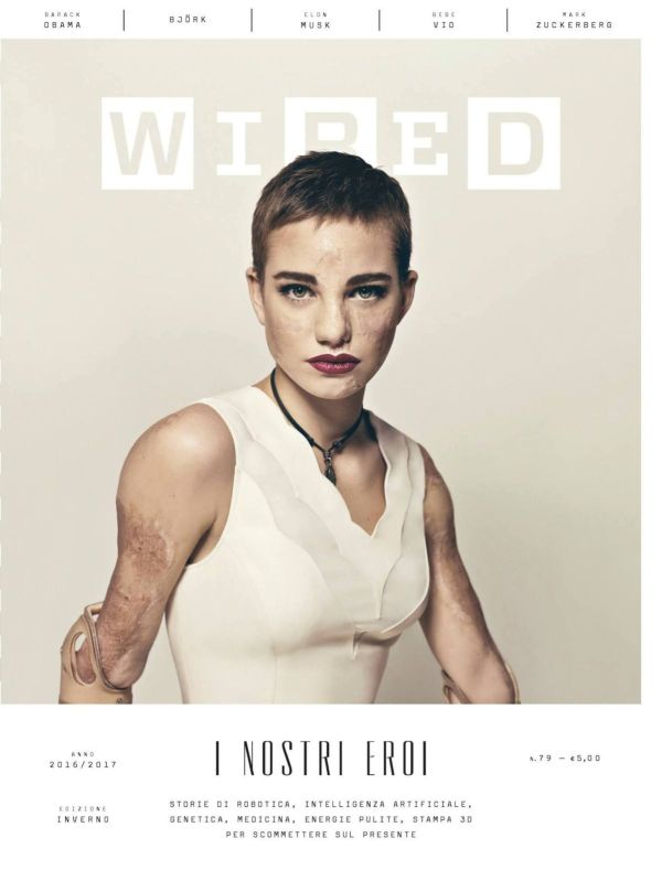 "WIRED Italia Winter 16/17 ""Beatrice Vio"" 
