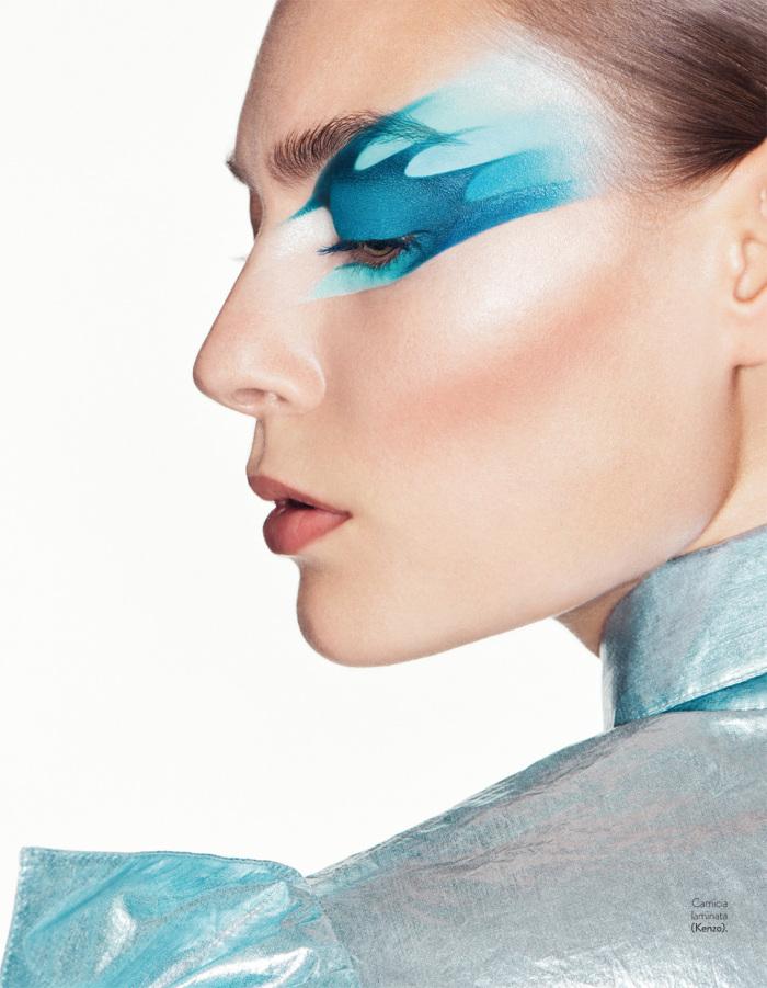 Grazia Beauty Special March 2017 | Florian Sommet | Grazia Italia | Numerique Retouch Photo Retouching Studio