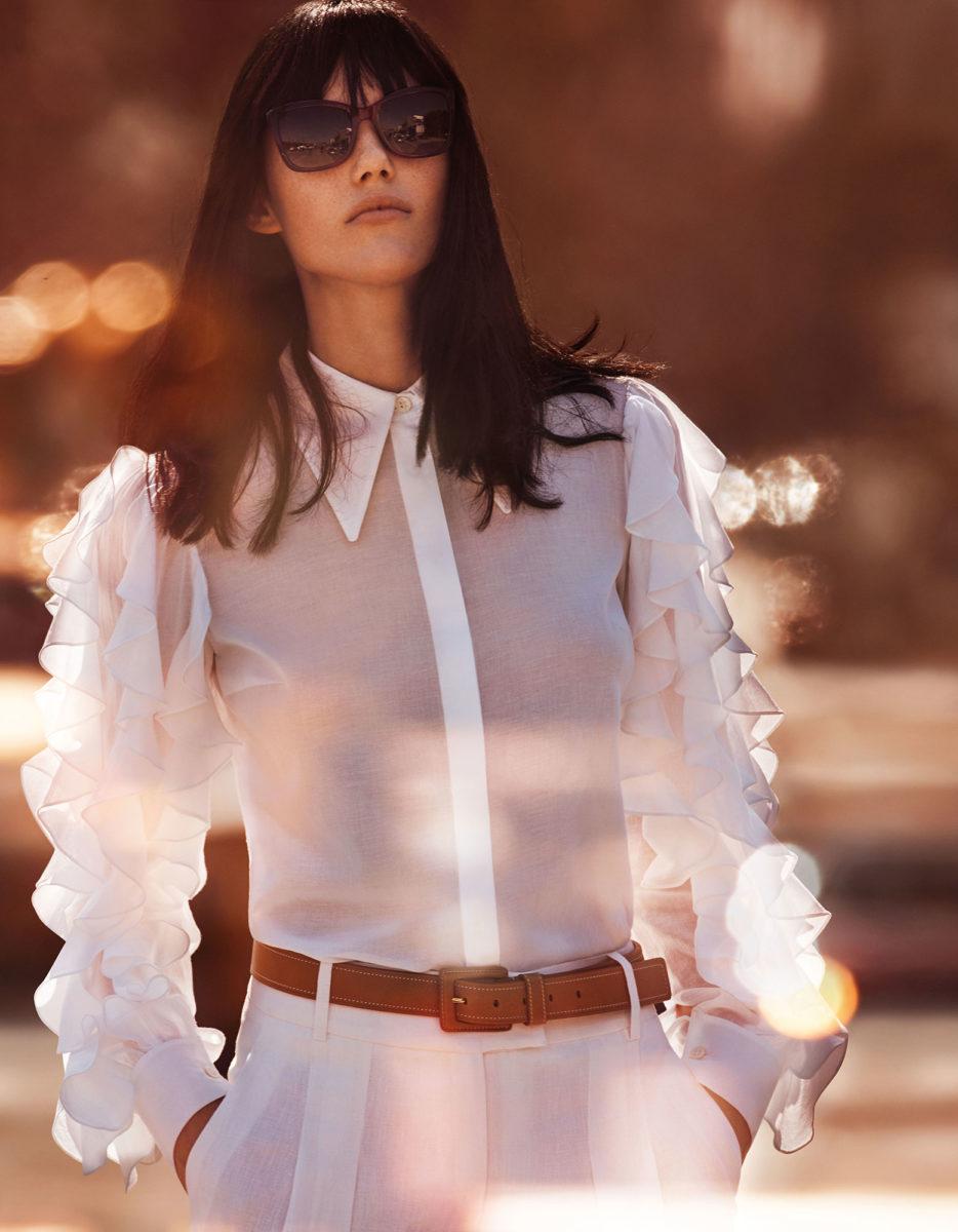 "Harper's Bazaar Japan may 2017 ""Girl About town"" | Michelangelo di Battista | Blugirl | Harper's Bazaar Japan | Andrea Tenerani | Numerique Retouch Photo Retouching Studio"