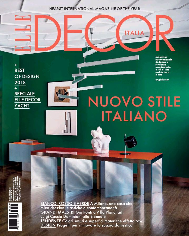 Elle Decor Cover Story September 2018 | Andrea Ferrari | Mango | Elle Decor | Eva Orbetegli | Numerique Retouch Photo Retouching Studio