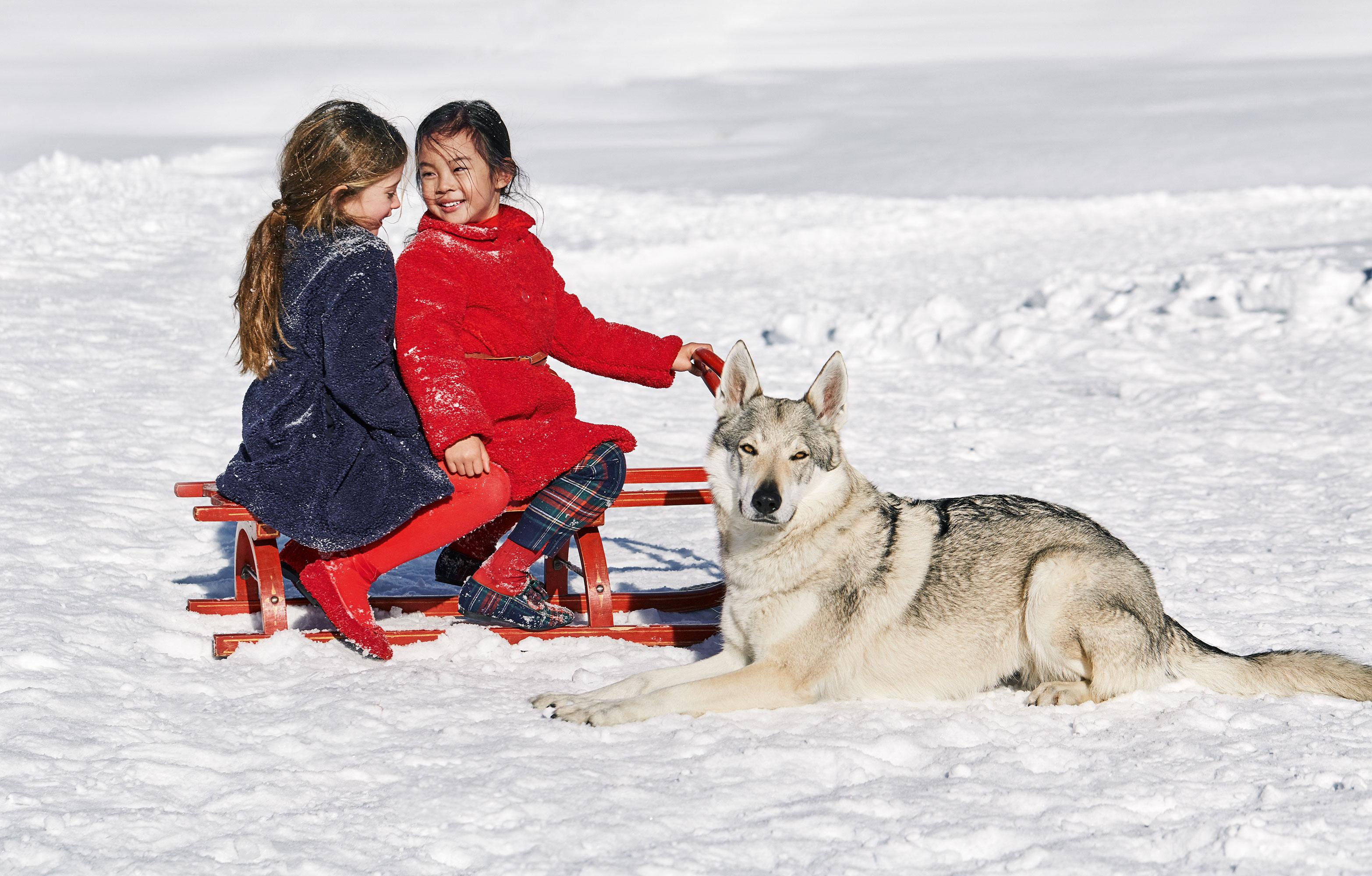 Il Gufo Arctic Wonderland FW 2018 | Serge Guerand | Il Gufo | Gioia | Sarah Grittini | Numerique Retouch Photo Retouching Studio