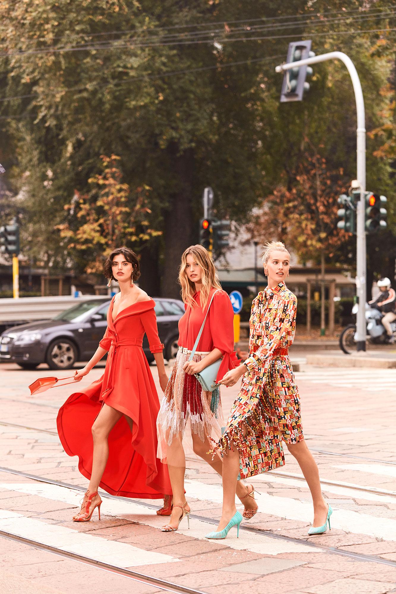 Elisabetta Franchi SS 19 | Andoni & Arantxa | Elisabetta Franchi | Numerique Retouch Photo Retouching Studio