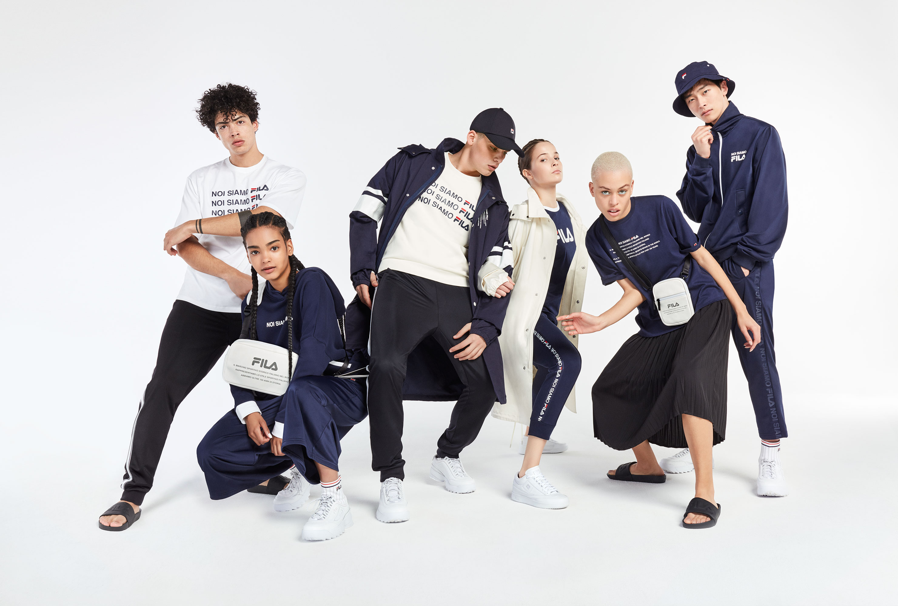 Fila Fusion Asia FW 18/19 | Dimitri Dimitracacos | Fila | Elle Decor | Sarah Grittini | Numerique Retouch Photo Retouching Studio