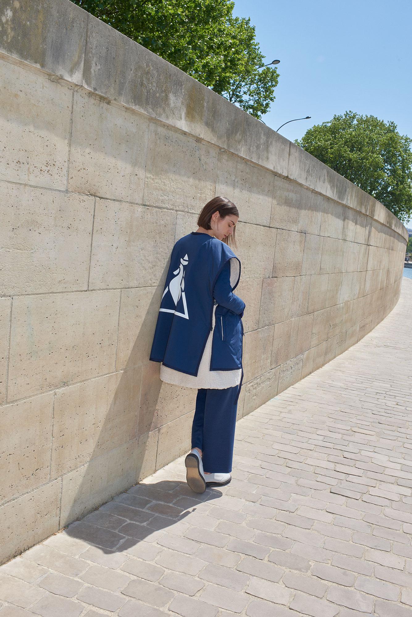 Le Coq Sportif x Nao Okawa 2018 | Marco Pietracupa | Le Coq Sportif | Numerique Retouch Photo Retouching Studio