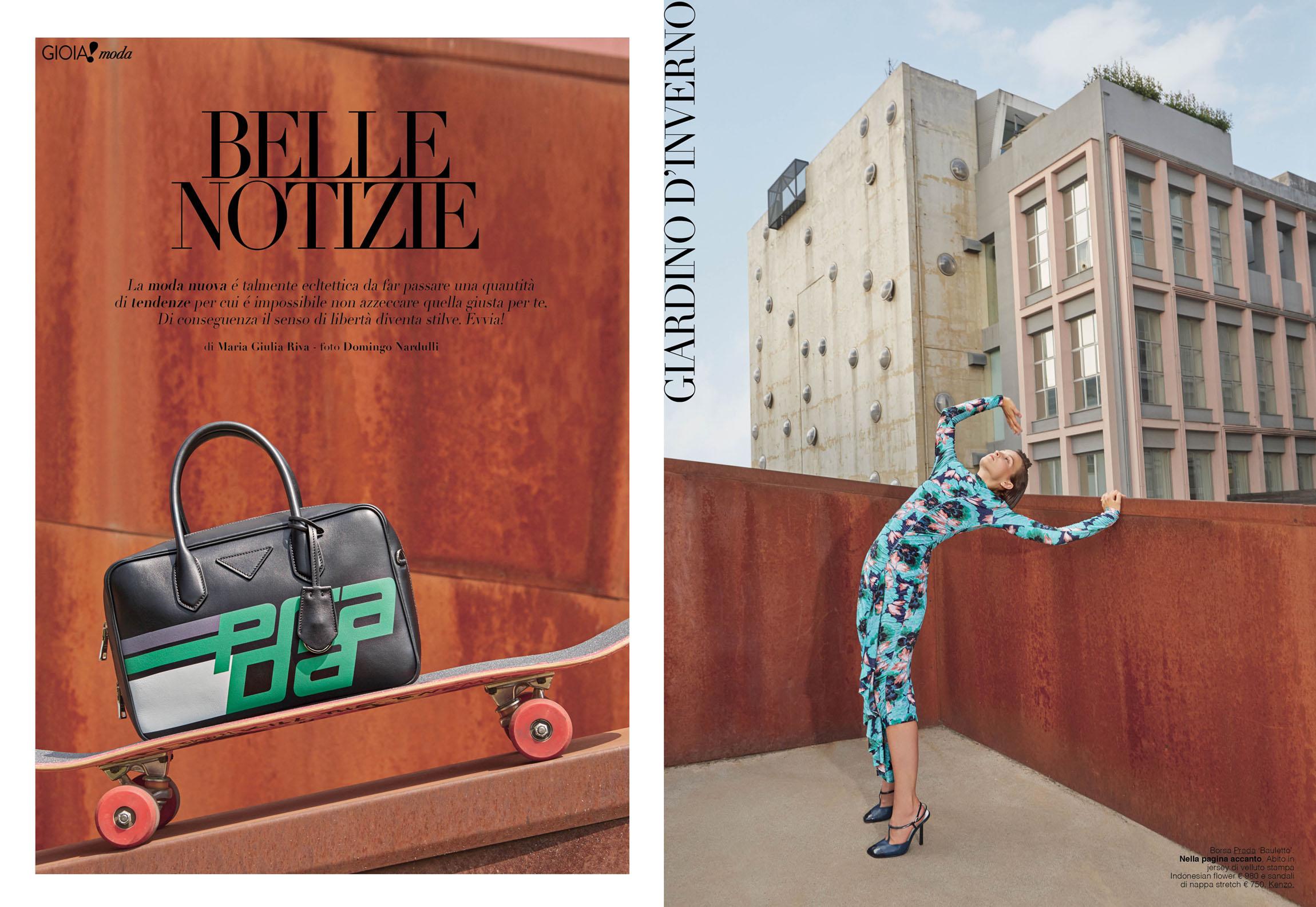 Gioia magazine August 2018 | Domingo Nardulli | Blazé Milano | Gioia | Maria Giulia Riva | Numerique Retouch Photo Retouching Studio