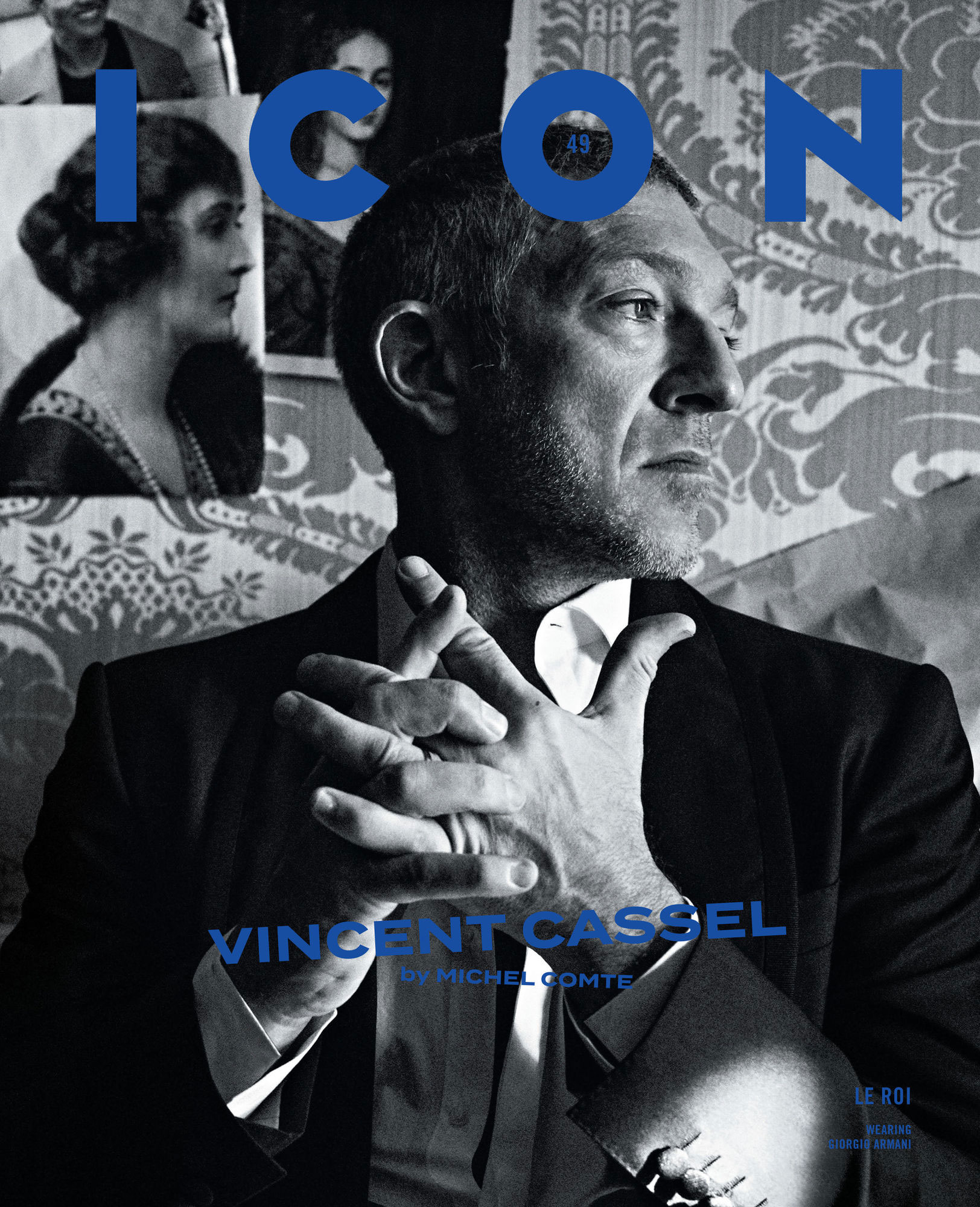 Icon Magazine x Vincent Cassel 2019 | Michel Comte | Icon | Ilario Vilnius | Numerique Retouch Photo Retouching Studio