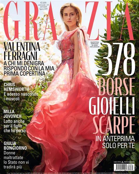 Valentina Ferragni – Grazia Italia Agosto 2019 | Marco Tassinari | Grazia Italia | Selin Bursalioglu | Numerique Retouch Photo Retouching Studio